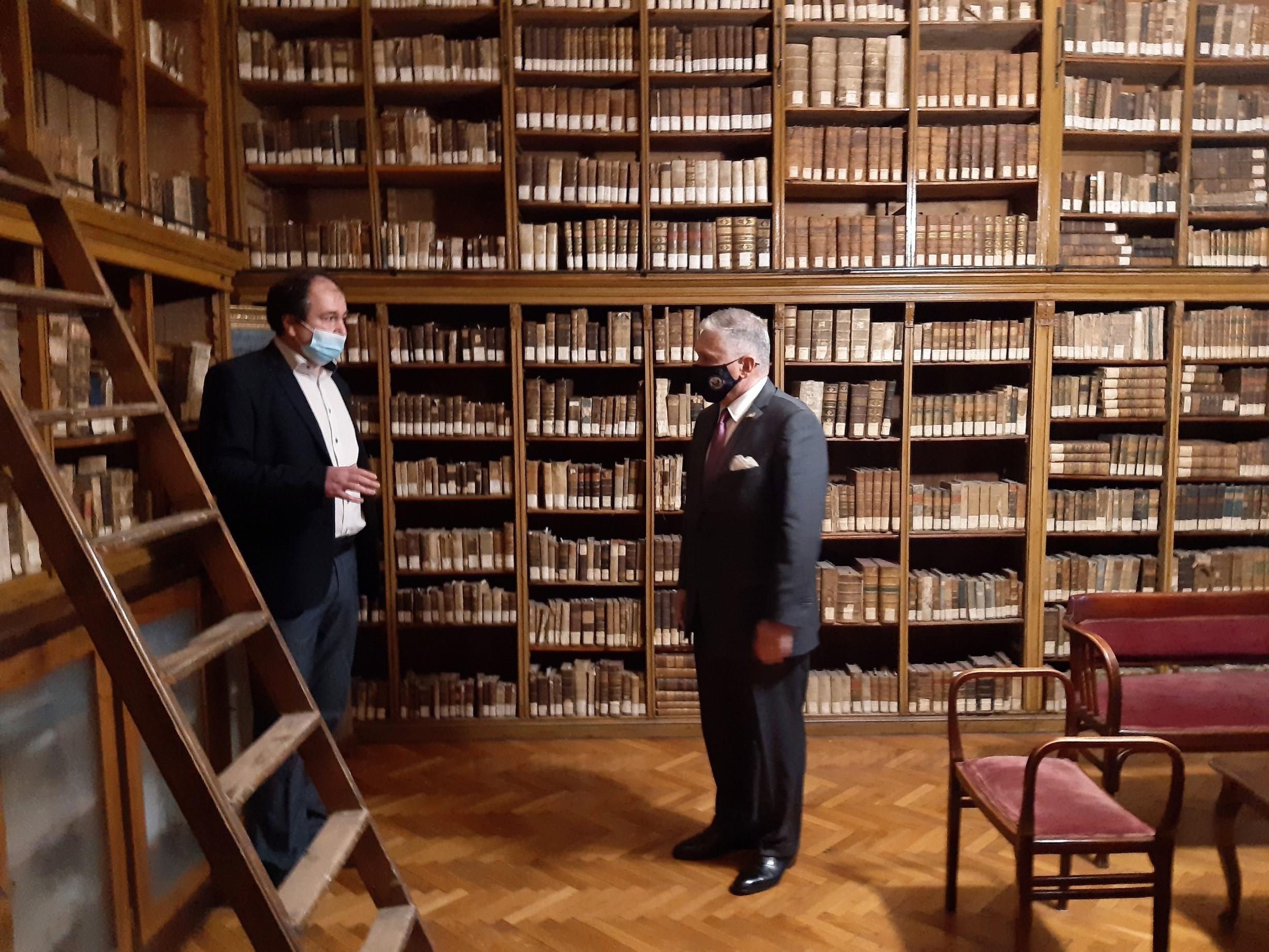 Ambasadorul Statelor Unite ale Americii a vizitat Biblioteca ASTRA