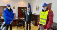 Solidaritatea Sanitară Sibiu a protestat pentru susținerea respectării drepturilor legale