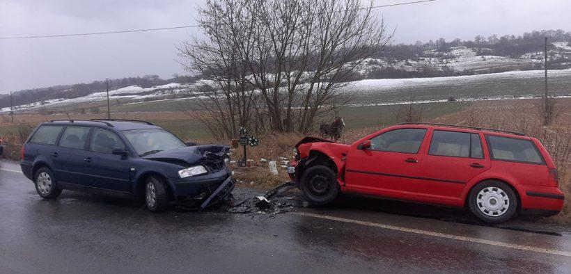 Accident rutier cu victime, produs în zona localității Laslea