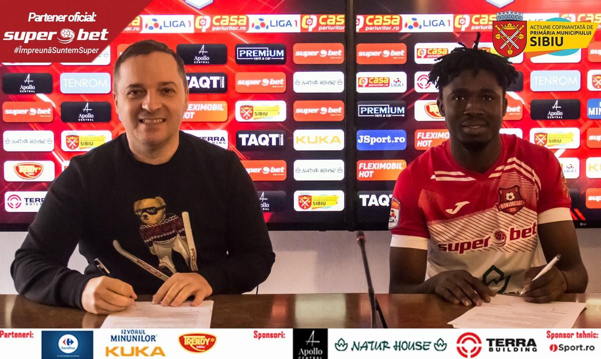 Contract cu FCH chiar de ziua lui de naștere – Seydou Saeed Issah