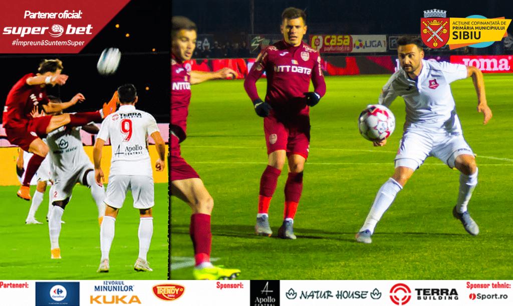 .F.C.Hermannstadt joacă pe teren propriu împotriva celor de la C.F.R. Cluj-Napoca