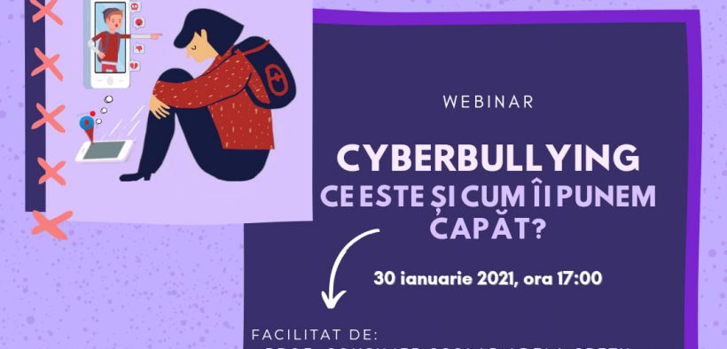 Consiliul Județean al Elevilor Sibiu va organiza un atelier despre Cyberbullying