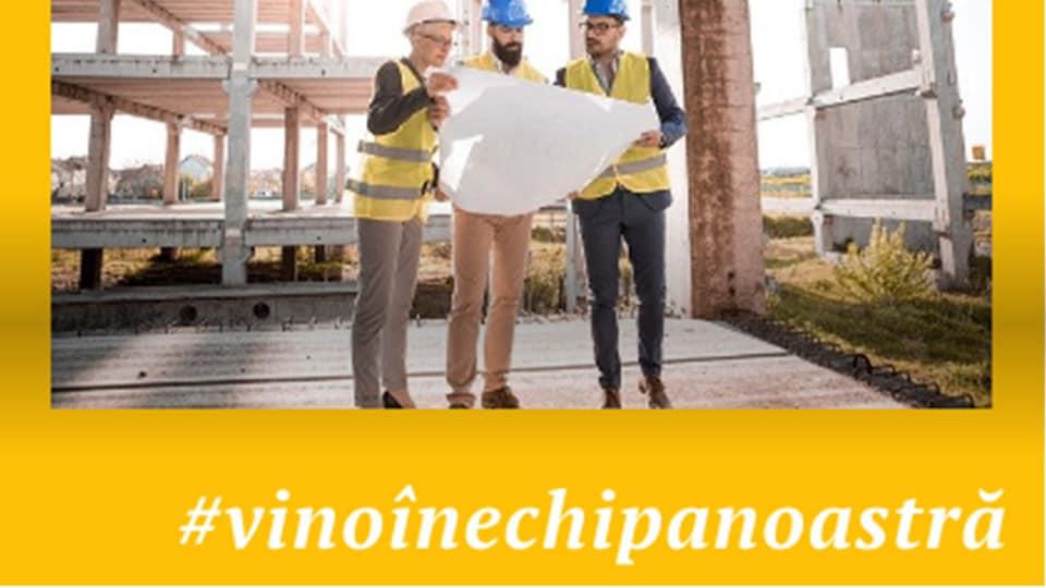 Echipa de Management al Proiectelor din CJ Sibiu te așteaptă să le fii coleg/ă