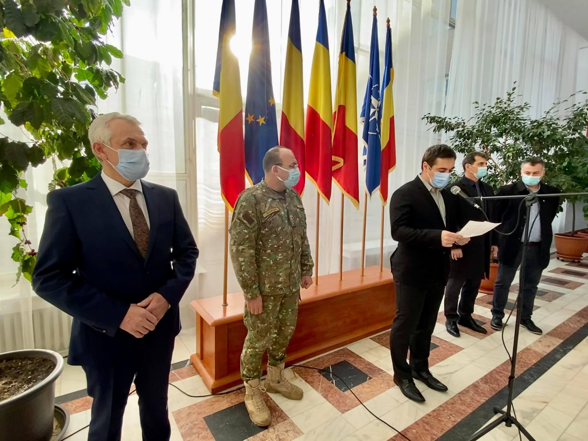 Mesajul prefectul Mircea Crețu de Ziua Unirii Principatelor Române