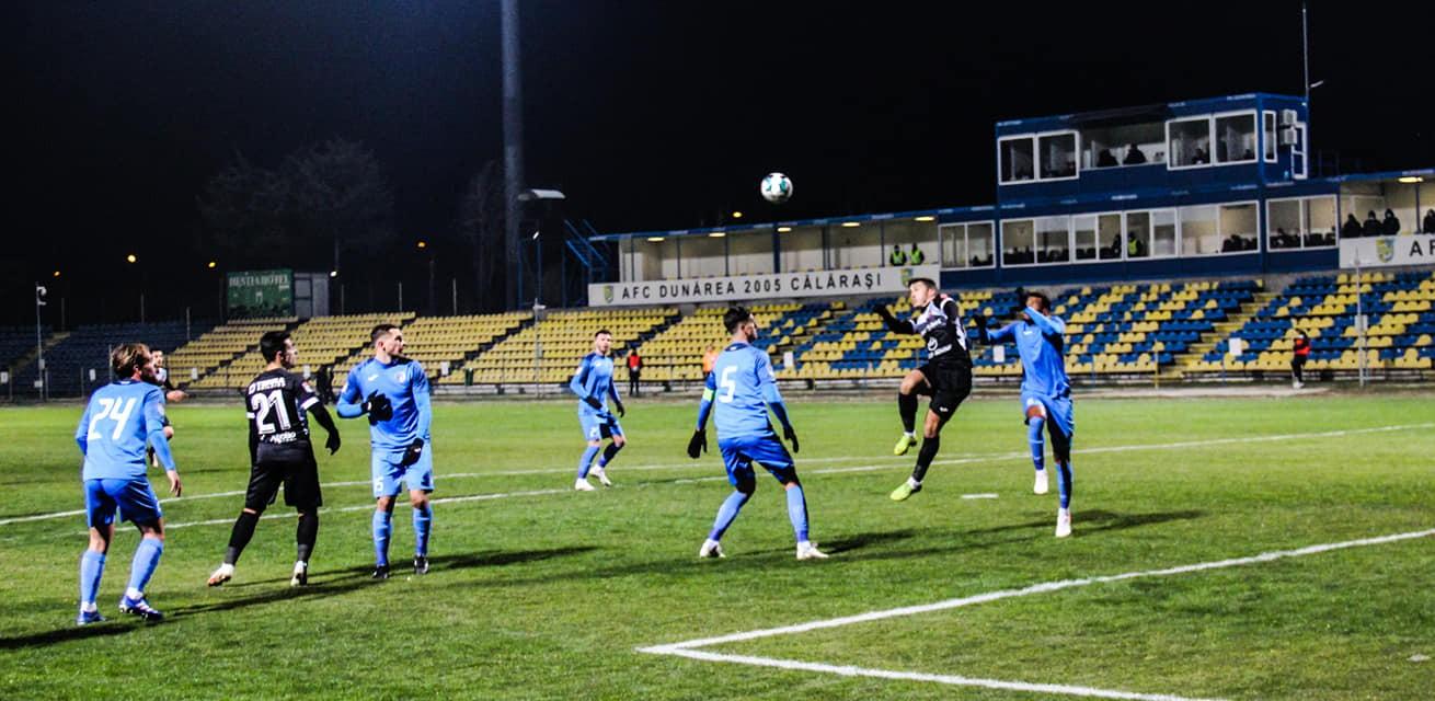Academica Clinceni și FC Hermannstadt au remizat, 0-0, în etapa 17 a Ligii 1
