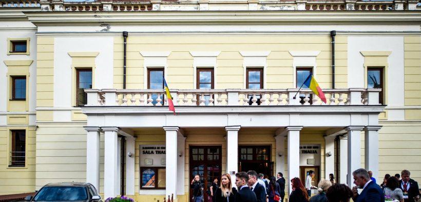 TNRS Sibiu felicită Filarmonica de Stat Sibiu pentru Ordinul Meritul Cultural