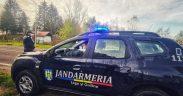 Jandarmii sibieni asigură ordinea și siguranța publică  la manifestările religioase de Boboteză