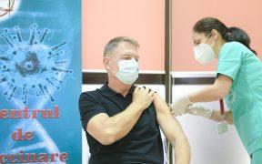 VIDEOKlaus Iohannis s-a vaccinat anti-Covid