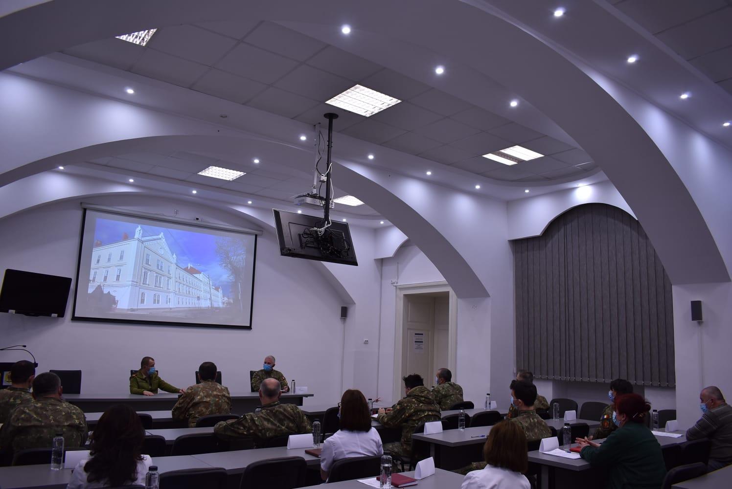 Spitalul Militar Sibiu a trecut cu brio testul de autoevaluare a stării structurii