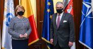 Primarul Sibiului a primit vizita Ambasadorului SUA