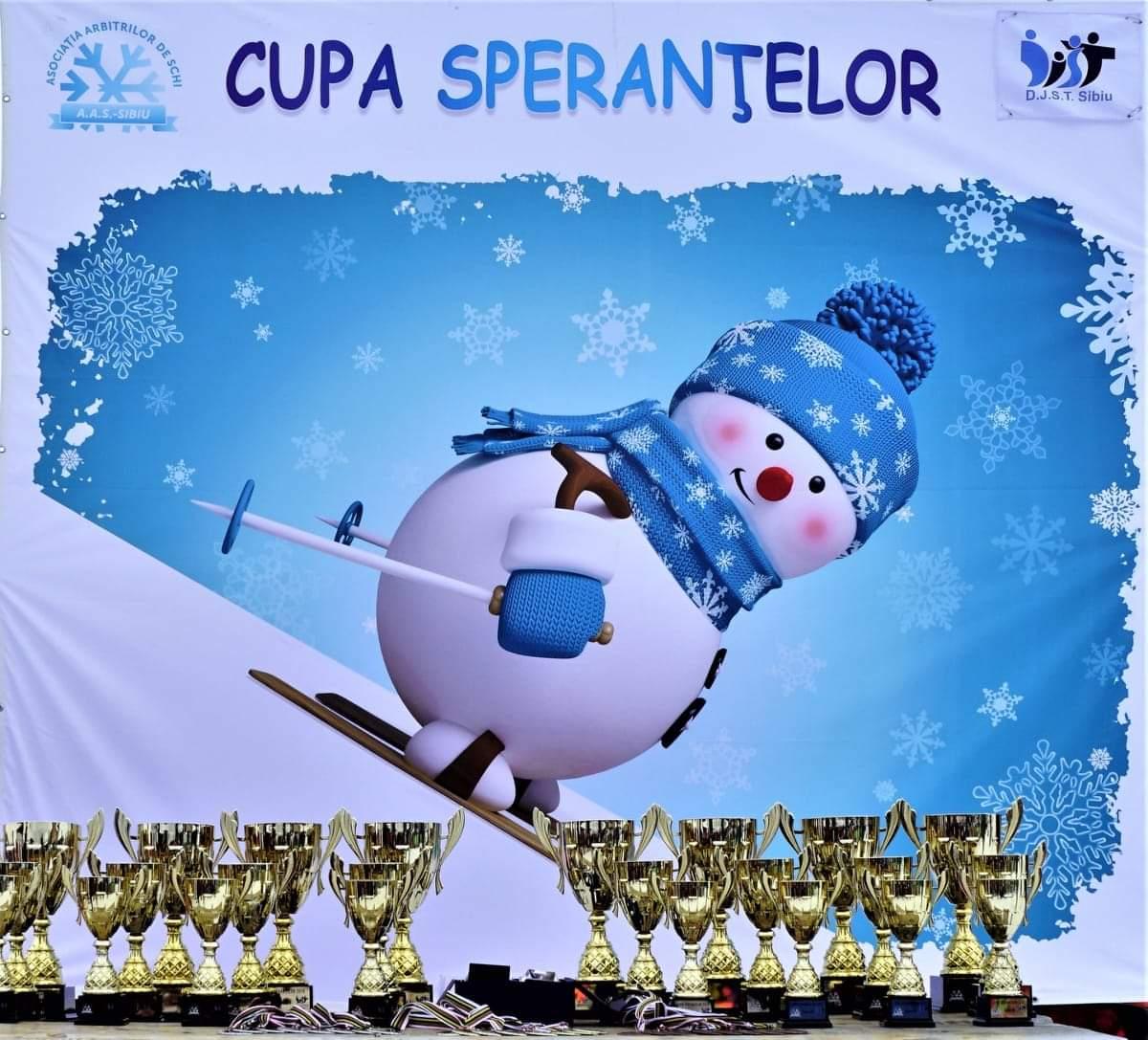 Pro Ski Cupa Speranțelor- competiție de schi alpin, dedicată copiilor