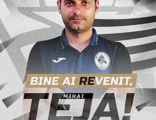 Mihai Teja, noul antrenor al Gazului Metan: Mă reîntorc la familia mea și sper să facem performanță!