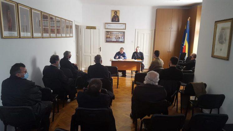 Preoții misionari din cadrul Protopopiatului Sibiu s-au întâlnit recent