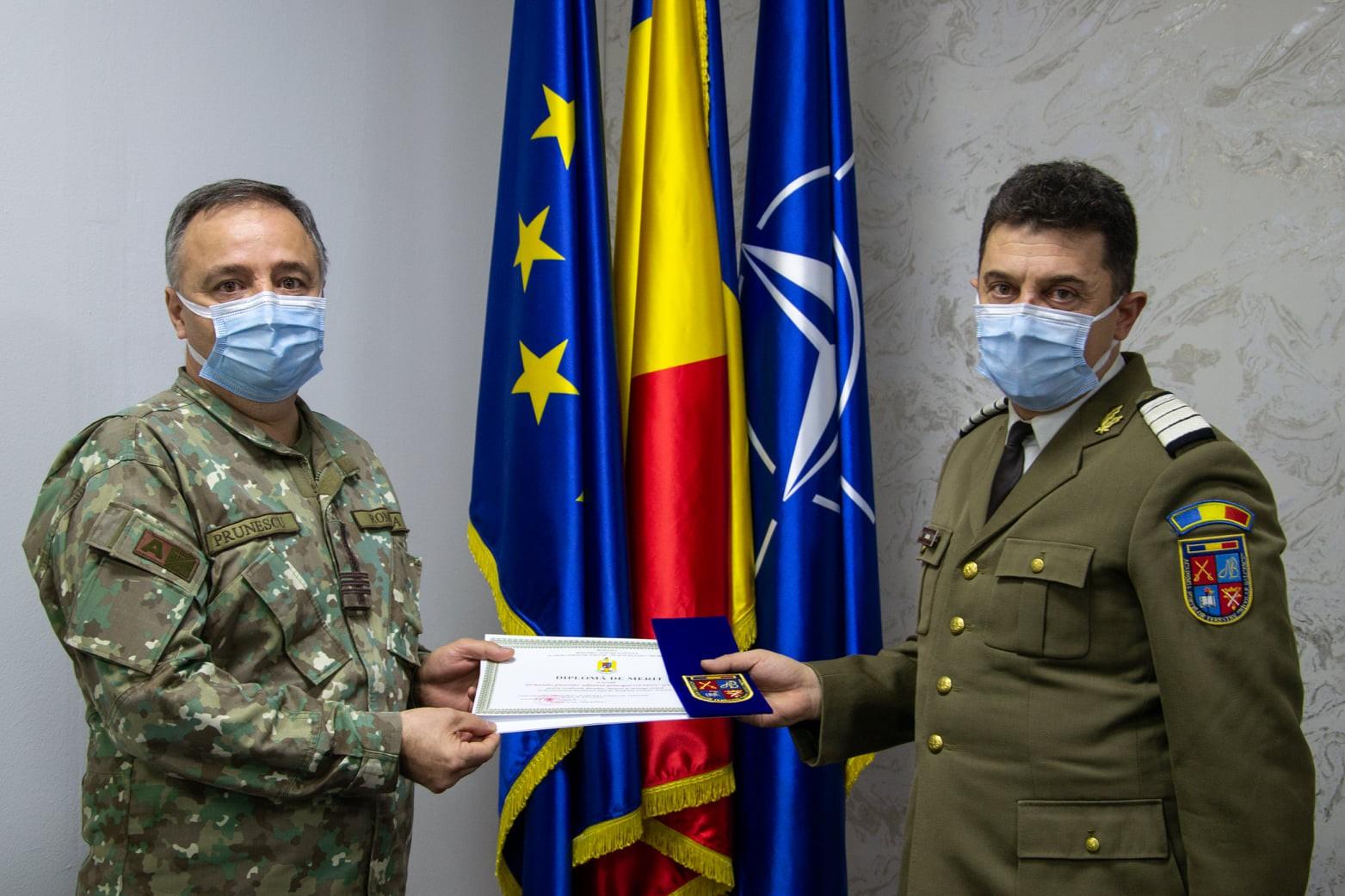 După 3 decenii de carieră militară, plutonierul adjutant principal Ovidiu Gugiu a trecut astăzi în rezerva Armatei României