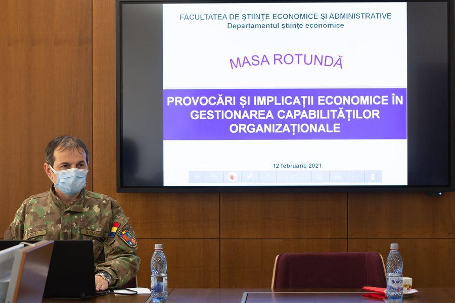 Manifestare științifică bazată pe două teme de actualitate, organizată la AFT Sibiu