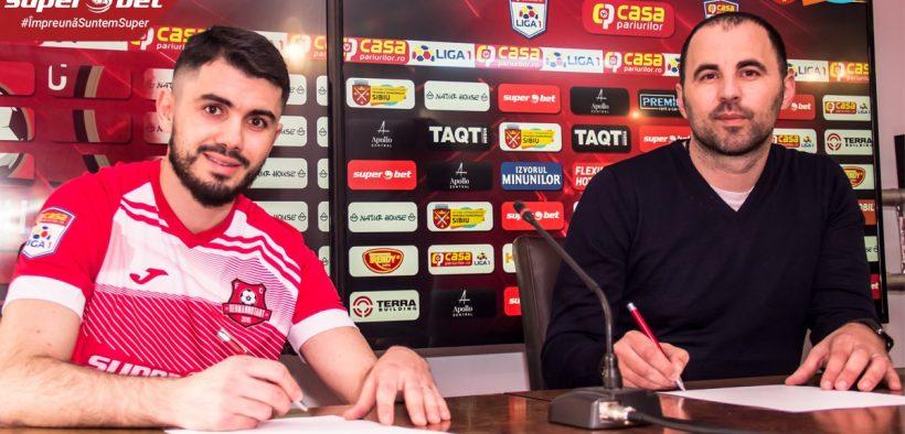 Billal Sebaihi a semnat cu A.F.C.Hermannstadt