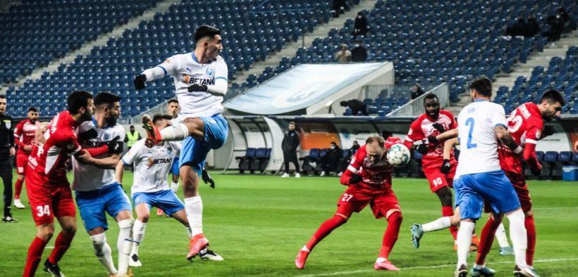 A.F.C. Hermannstadt a cedat în fața echipei din Bănie