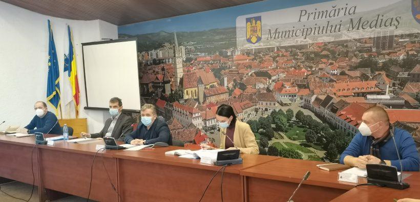 Primăria Mediaș a găzduit întâlnirea Asociațiilor de Dezvoltare Intercomunitară ECONORD SIBIU și APA TÂRNAVEI MARI