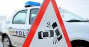 Un șofer băut a provocat un accident între localitățile Poiana Sibiului și Jina