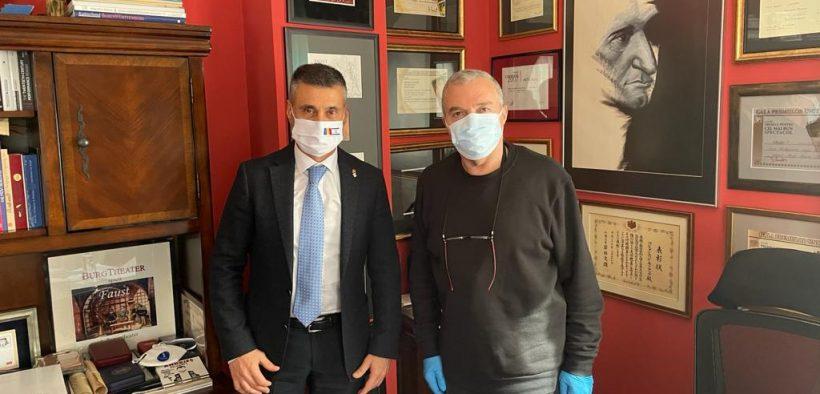 """Teatrul Național """"Radu Stanca"""" Sibiu a fost onorat de Ambasadorul Israelului în România, Excelența Sa David Saranga, cu o vizită oficială"""