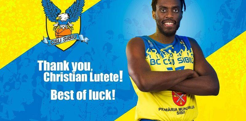 BC CSU Sibiu se desparte de Christian Lutete