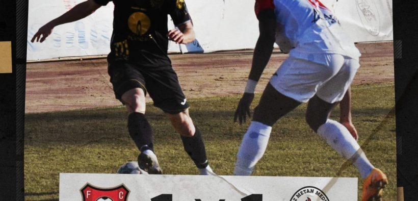 FCH și Gaz Metan au remizat, scor 1-1, în derby-ul județului Sibiu