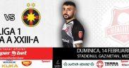 A.F.C. Hermannstadt se va confrunta cu liderul campionatului