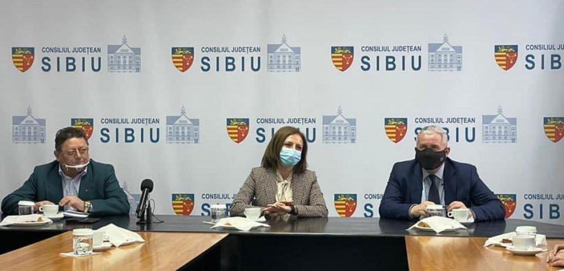 Vizită de lucru a europarlamentarului Daniel Buda în județul Sibiu