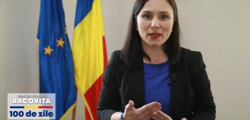 Andreea Voicu, la 100 zile de mandat: Ceea ce sădim acum va defini Racovița următorilor ani