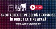 """Spectacolul """"LIVE"""", regia Bobi Pricop, inaugurează secțiunea ÎN DIRECT"""