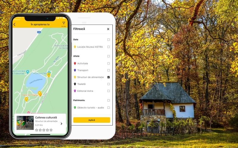 Muzeul ASTRA lansează prima aplicație mobilă cu ghid audio