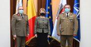 Întâlnire de lucru pe tema deschiderii Comandamentului NATO la Primăria Sibiu