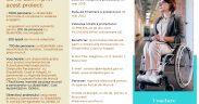 Vouchere în valoare de până la 5000 de euro pentru achiziția de tehnologie asistivă, dedicate persoanelor cu dizabilități