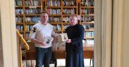 Donaţie de carte pentru biblioteca Centrului de Arestare Preventivă Sibiu