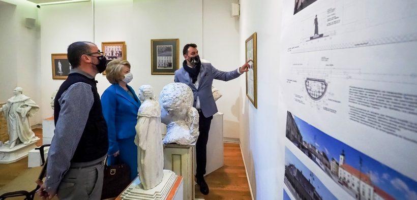 Juriul a desemnat proiectul câștigător pentru viitoarea Statuie dedicată Baronului Samuel von Brukenthal