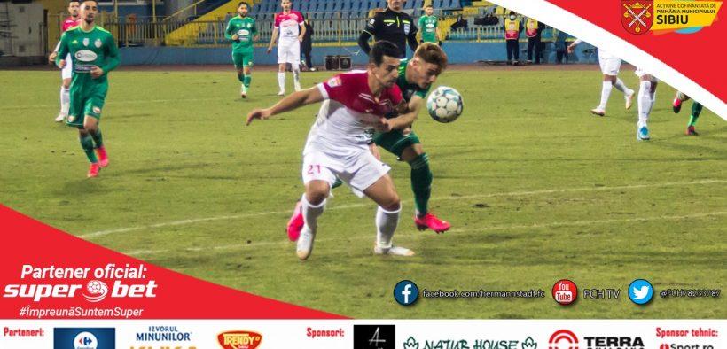Sepsi OSK s-a impus pe terenul FC Hermannstadt , scor 2-1
