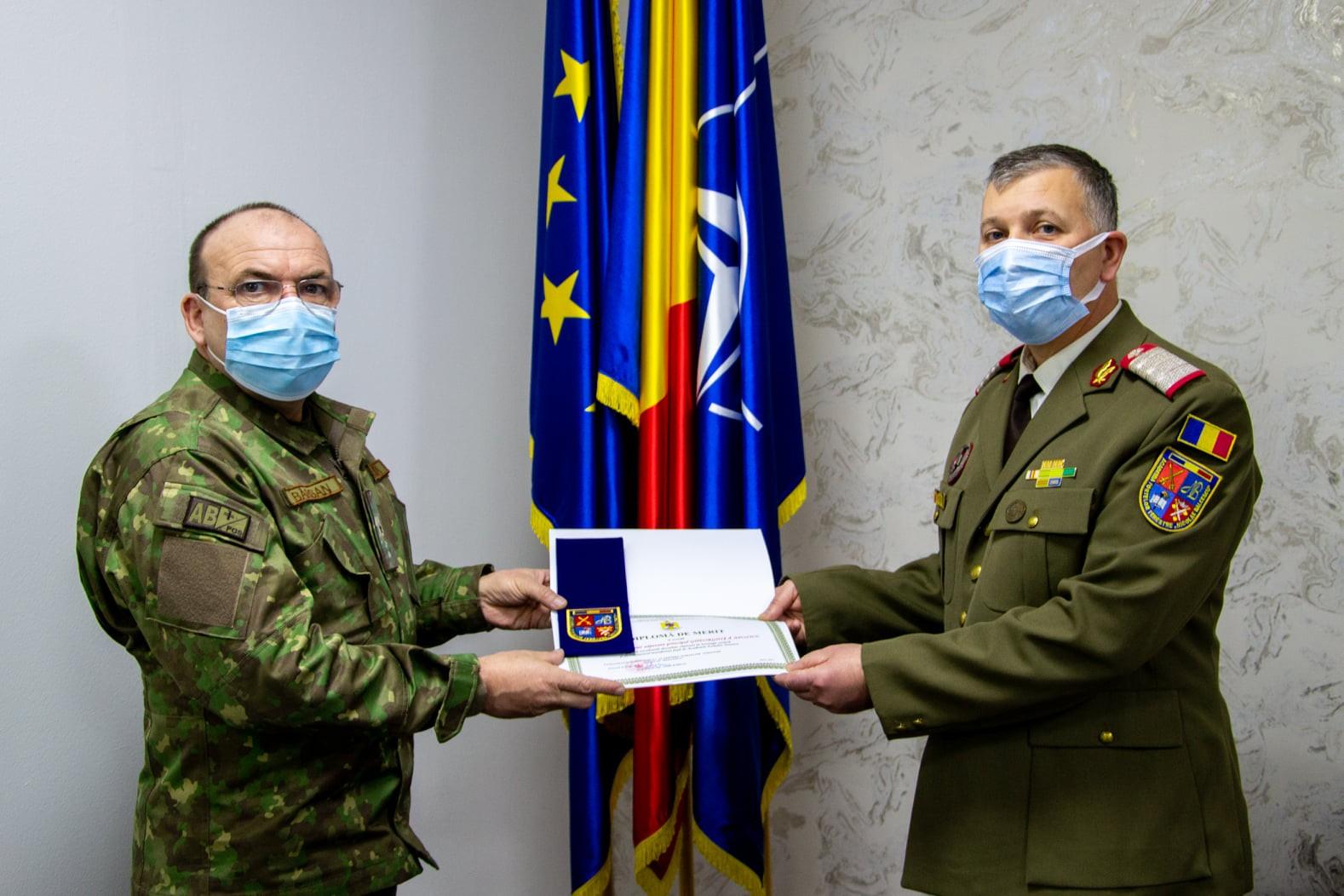 După 3 decenii de carieră militară, Apostol Gheorghiță a în rezerva Armatei României