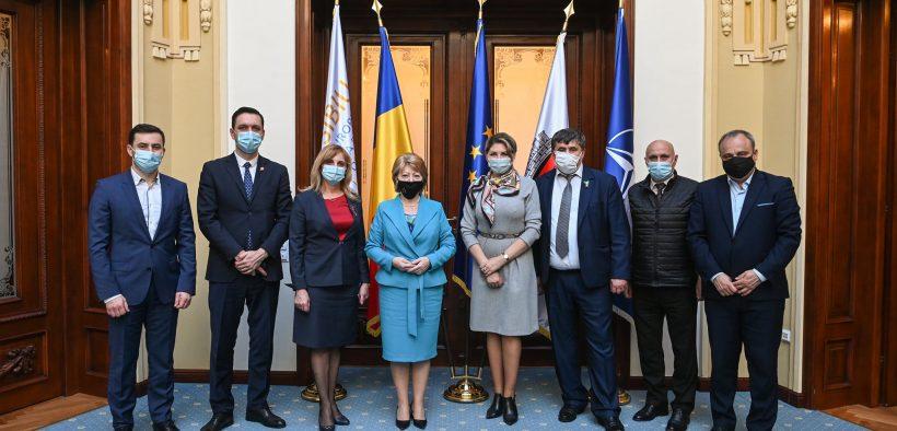 Secretarul general adjunct al Guvernului din Republica Moldova a vizitat Primăria Sibiu