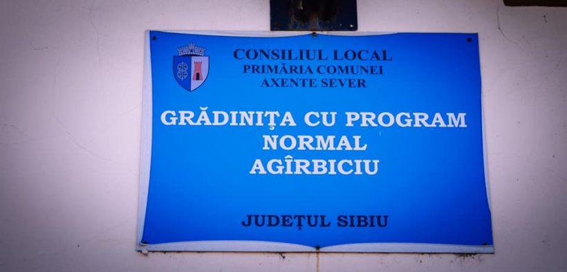 S-a încheiat prima etapă a lucrărilor de renovare a Grădiniței din Agârbiciu