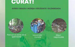 Campanie de ecologizare organizată în Săcădate, Avrig, Bradu, Mârșa și Glâmboaca