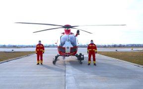 A fost achiziționat un elicopter ce va deservi zona montană Sibiu- Brașov