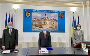 Noua conducere a Prefecturii Sibiu a depus jurământul