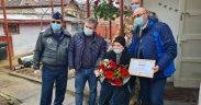 Doi veterani de război, premiați de primarul Gheorghe Roman