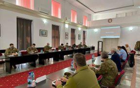 Specialiști de cooperare civili-militari CIMIC România și afaceri civile – CA SUA, prezenți la Sibiu