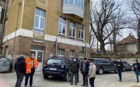 Consiliul Județean Sibiu a emis ordinul de începere a lucrărilor de reabilitare a clădirii de la Neurologie