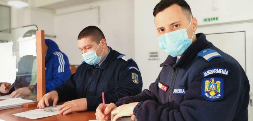 Jandarmii sibieni au donat sânge și plasmă sanguină