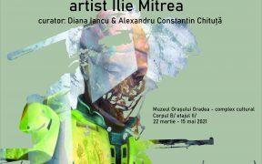 """Expoziţia """"DESPRE ARTĂ ȘI RĂZBOI. armEGOrte"""" semnată de artistul sibian Ilie Mitrea a fost deschisă la Oradea"""