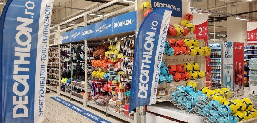 15 shopping corners Decathlon vor fi deschise în hipermarketurile Auchan până la sfârșitul anului