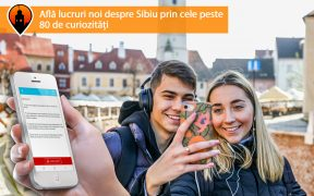 Ghid audio pentru vizitare Sibiului, disponibil în Română, Engleză și Germană