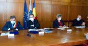 Ministrul dezvoltării a semnat un nou contract pe fonduri europene nerambursabile care contribuie la modernizarea Mediașului